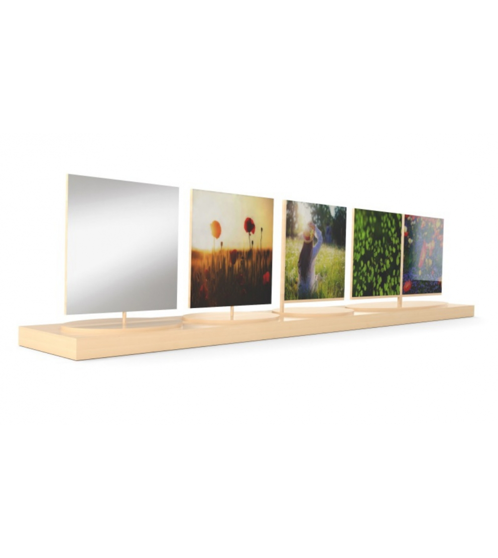 In Legno Wood Design design mirror and photo frame on sale