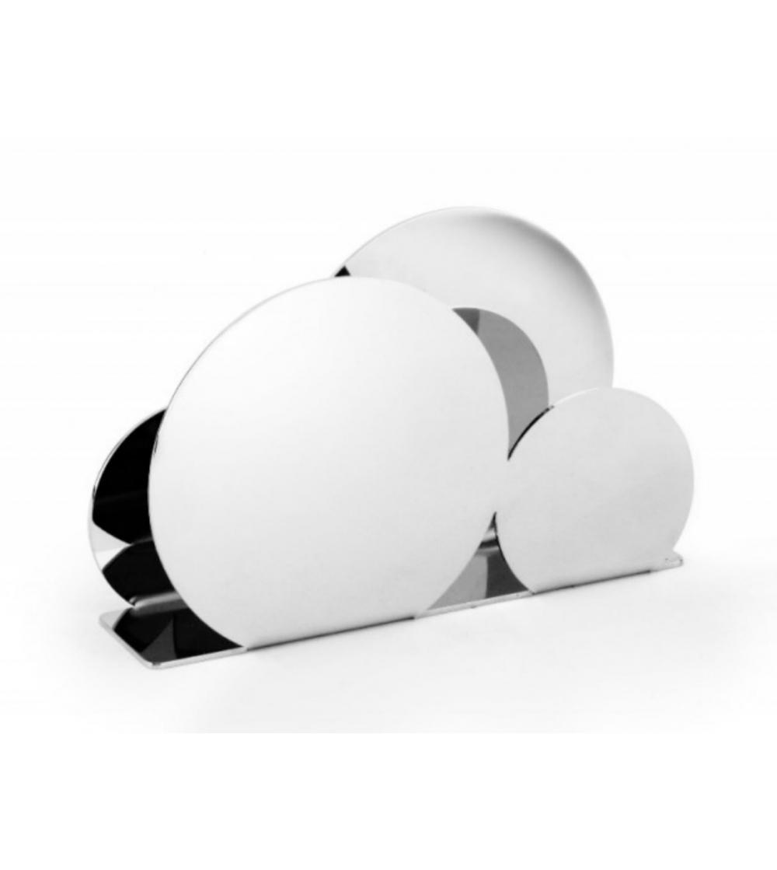 Modern Napkin Holder In 18 10 Stainless Steel Elleffe Design