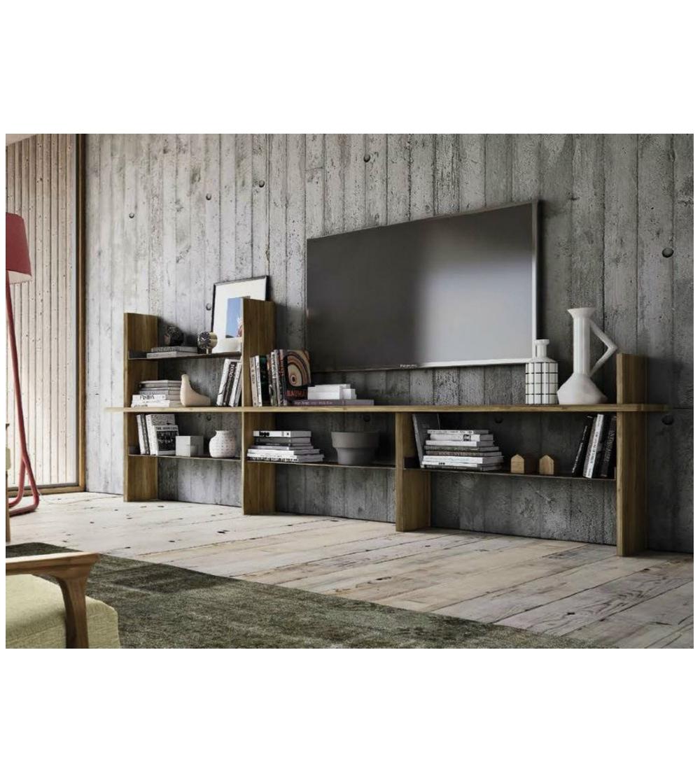 biblioth que modulable s 151 dale italia. Black Bedroom Furniture Sets. Home Design Ideas