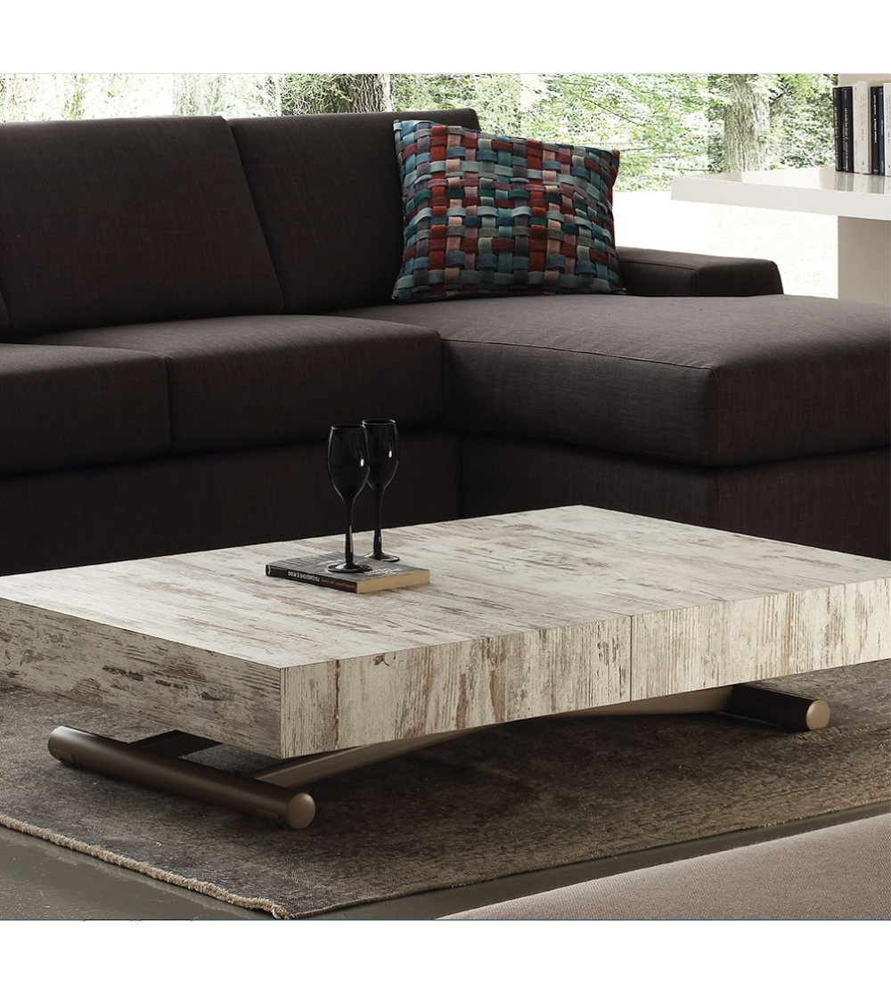 Convertible Coffee Table Block La Seggiola