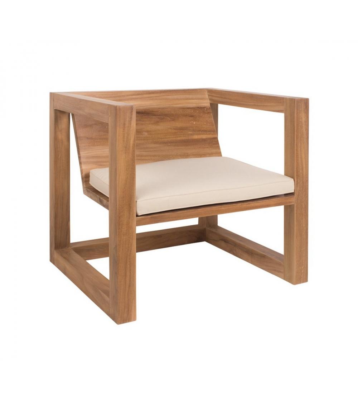 In Legno Wood Design armchair boxer di design il giardino di legno