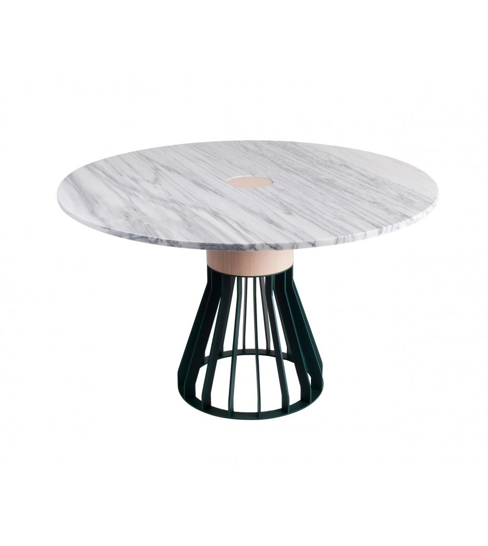 Runder Tisch Metallgestell.Runder Tisch Mewoma La Chance