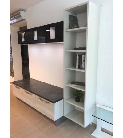 Parete cucina attrezzata pareti attrezzate cucina parete attrezzata per la cucina with awesome - Cucina parete attrezzata ...
