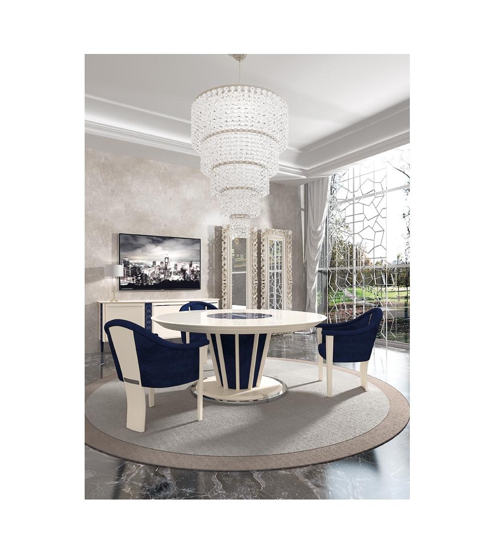 Vismara Design Mesa redonda de lujo