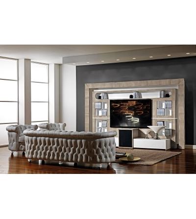 Vismara Design Desire Parete Tv di lusso