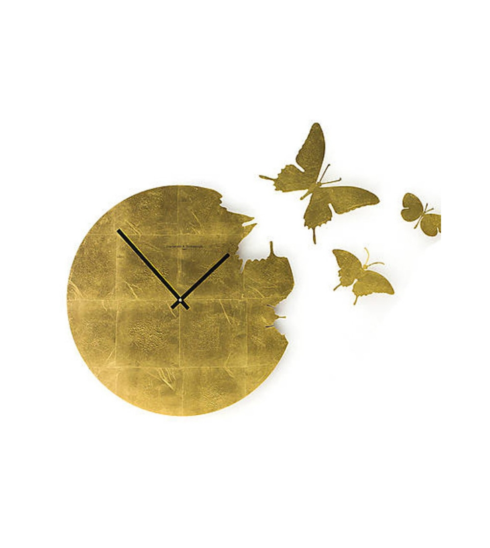 Diamantini & Domeniconi Art. 1720/F Butterfly Clock