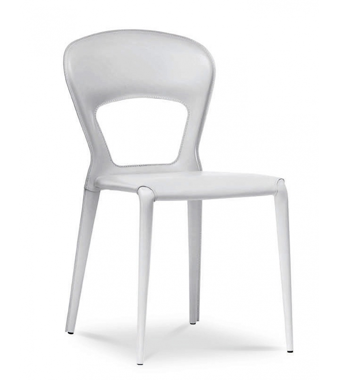 Sedia in Cuoio Midj