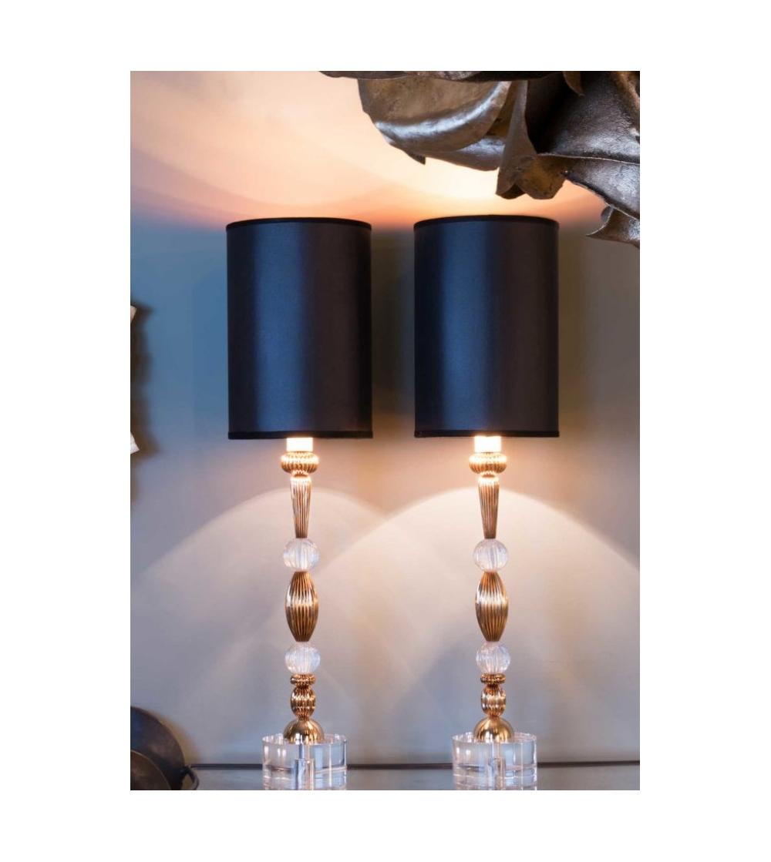 Lampada Da Scrivania In Ottone.Lampada Da Tavolo In Ottone Ciani Atelier