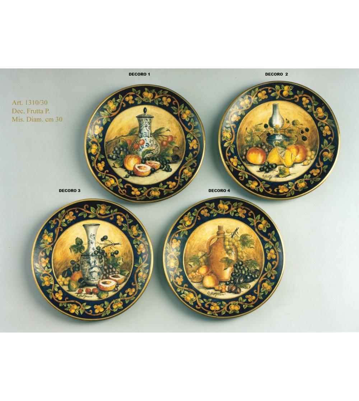 Piatti In Ceramica Prezzi.Piatto Da Parete In Ceramica Di Alta Qualita Batignani Ceramiche