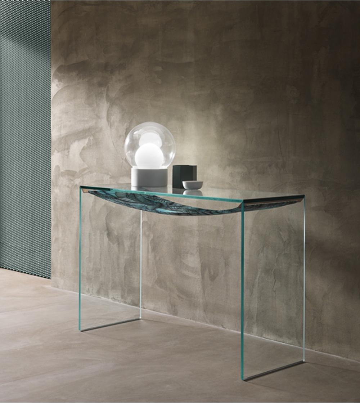 Consolle Vetro Design.Tonelli Design Consolle Amaca