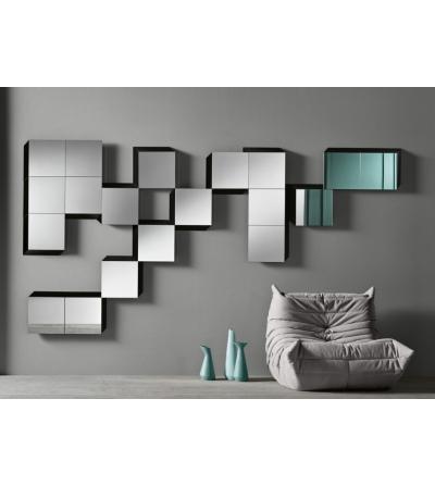 Modularer Spiegel Tonelli Design Guidoriccio