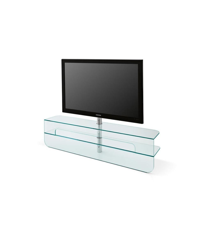 Meuble Tv En Verre Design.Meuble Tv Tonelli Design Plasmatik